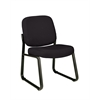 OFM Armless Guest / Reception Chair Black