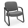OFM Big & Tall Guest/Reception Chair Gray