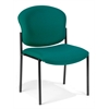 Armless Stack Chair, Teal