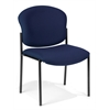 Armless Stack Chair, Navy