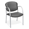 OFM Danbelle Guest/Reception Chair, Charcoal