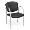 OFM Danbelle Guest/Reception Chair, Black