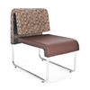 OFM UNO Lounge Chair, Brown