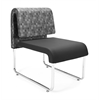 OFM UNO Lounge Chair, Black