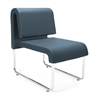 OFM UNO Lounge Chair, Navy