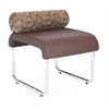 OFM UNO Pillow Back Seat, Brown