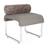 OFM UNO Pillow Back Seat, Taupe