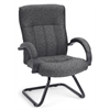 OFM Guest/Reception Chair, Charcoal