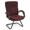 OFM Guest/Reception Chair, Burgundy