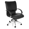 Sharp Series Executive Mid-Back Leather Chair
