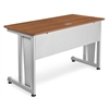 OFM Modular Computer/Privacy Table 24 x 48, Cherry