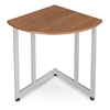 OFM Quarter Round Table/Telephone Stand, Cherry