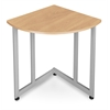 OFM Quarter Round Table/Telephone Stand, Maple