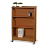 OFM 3-Tier Bookcase, Cherry