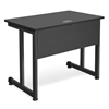 OFM Modular Computer/Privacy Table 24 x 36, Graphite