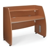 OFM Modular Privacy Station, Cherry