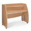 OFM Modular Privacy Station, Maple