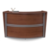 OFM Single-Unit Marque Reception Station, Cherry
