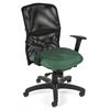 OFM AirFlo Series Mesh Task Chair, Green