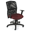 AirFlo Series Mesh Task Chair, Burgundy