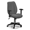 Ergonomic Manager's Chair, Graphite