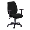 Ergonomic Manager's Chair, Ebony