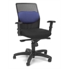 OFM AirFlo Series Executive Task Chair, Blue Mesh