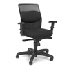 OFM AirFlo Series Executive Task Chair, Black Mesh