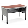 "OFM Mesa Series Training Table/Desk with Drawers 27.75"" x 47.25"", Cherry"