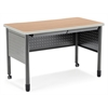 "OFM Mesa Series Training Table/Desk with Drawers 27.75"" x 47.25"", Maple"