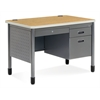 Single Pedestal Sales Desk 26.75 x 42.25