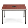 OFM Mesa Series Terminal/Workstation, Cherry