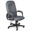 OFM Value Series Executive High-Back Task Chair, Gray