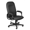 OFM Value Series Executive High-Back Task Chair, Black