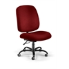 OFM Big & Tall Task Chair, Wine