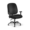 Big & Tall Task Chair with Arms, Black