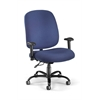OFM Big & Tall Task Chair with Arms, Navy
