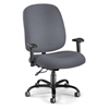Big & Tall Task Chair with Arms, Gray