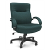 OFM Big & Tall Executive Mid-Back Chair, Teal