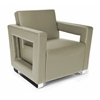 OFM Distinct Series Soft Seating Lounge Chair, Taupe