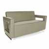 OFM Distinct Series Soft Seating Sofa, Taupe