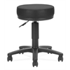 OFM Anti-Microbial/Anti-Bacterial Vinyl Utilistool, Black