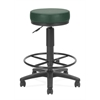 OFM Anti-Microbial/Anti-Bacterial Vinyl Utilistool with Drafting Kit, Teal