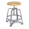 OFM Endure Series Small Stool, Maple