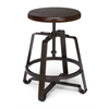 OFM Endure Series Small Stool, Walnut