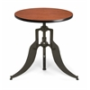 "Endure Series 30"" Round Adjustable Height Table, Cherry"