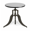 "OFM Endure Series 30"" Round Adjustable Height Table, Gray Nebula"