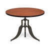 "Endure Series 42"" Round Adjustable Height Table, Cherry"