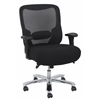 Essentials by OFM Big and Tall Swivel Mesh Office Chair with Arms, Black/Chrome