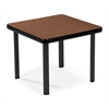 OFM End Table with 4 Legs, Mahogany